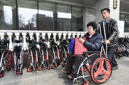 健康中国小V共享轮椅上日本雅虎新闻头条